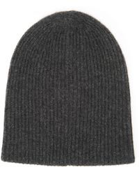 White + Warren - Plush Rib Beanie - Lyst