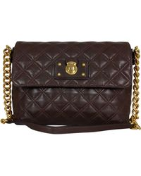 Marc Jacobs - Dark Brown The Large Single Bag - Lyst