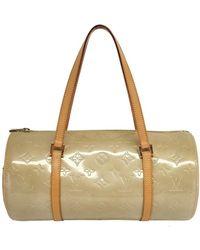 Louis Vuitton - Vernis Bedford Tan Monogram Papillon Handbag - Lyst