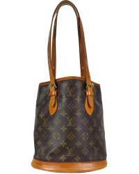 12bced6f36dc Lyst - Louis Vuitton Monogram Canvas Turenne Mm Bag in Brown