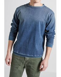 Current/Elliott - Drop Shoulder Sweatshirt - Lyst