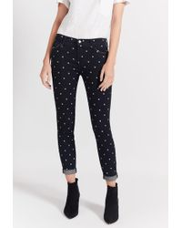 Current/Elliott - The Easy Stiletto With Rolled Hem Jean - Lyst