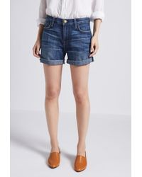 Current/Elliott - The Boyfriend Rolled Short - Lyst