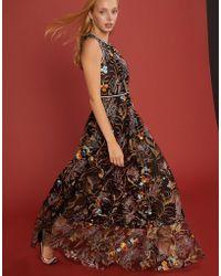 Cynthia Rowley - Lorelei Embroidered Mesh Dress - Lyst