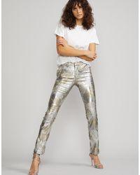 Cynthia Rowley - Gold Coast Metallic Pants - Lyst