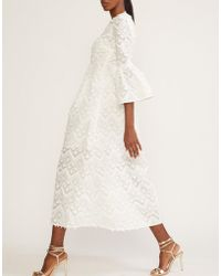 Cynthia Rowley - Romy Lace Bell Sleeve Dress - Lyst