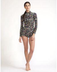 Cynthia Rowley - Mini Floral Wetsuit - Lyst