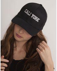 Cynthia Rowley - Caliyork Baseball Cap - Lyst