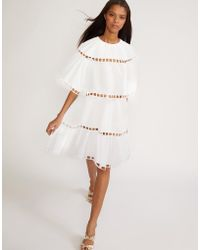 Cynthia Rowley - White Postcard Eyelet Dress - Lyst