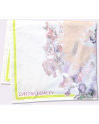 Cynthia Rowley - Light Floral Beach Towel - Cr X Goop Exclusive - Lyst