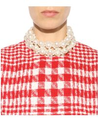 Simone Rocha - Faux Pearl Necklace - Lyst