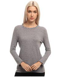 Kate Spade Gray Bekki Sweater - Lyst