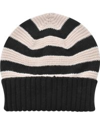 Sonia Rykiel Striped Wool Hat - Lyst