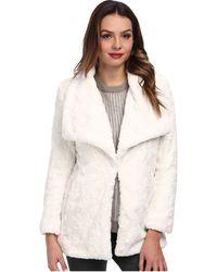 Karen Kane Faux Fur Jacket - Lyst