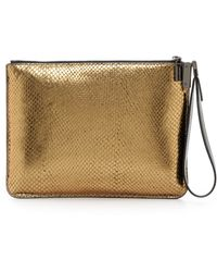 Time's Arrow Ishi Small Wristlet Goldmine - Lyst