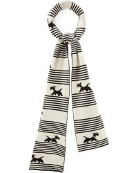 Cc | Stripe Scotty Dog Scarf | Lyst