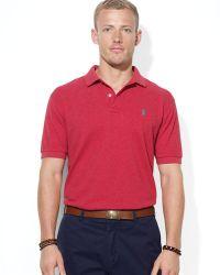 Ralph Lauren Classic Mesh Polo Shirt  - Lyst