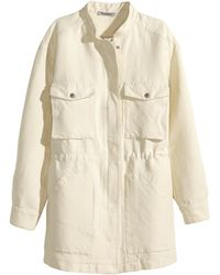 H&M Jacket In A Linen Blend - Lyst