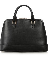 Versace Leather Tote - Lyst