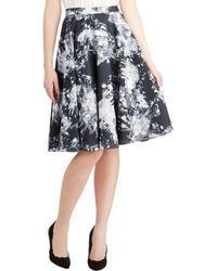 ModCloth Ikebana For All Skirt in Crystals - Lyst