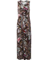 Emilio Pucci | Printed Maxi Dress | Lyst