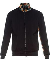Y-3 Contrast Floral-Print Sweatshirt - Lyst