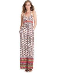 Trina Turk Venice Beach Long Dress - Lyst