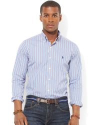 Ralph Lauren Polo Multistriped Cotton Shirt - Lyst