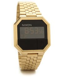 Nixon Gold Re-run Watch - Lyst