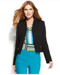 Calvin Klein Textured Zip-Pocket Jacket - Lyst