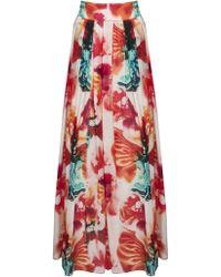 Alice + Olivia Gemma Maxi Skirt multicolor - Lyst