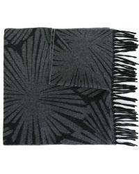 Nina Ricci - Intarsia Knit Scarf - Lyst