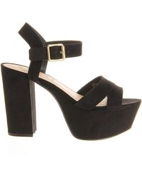 Office Jargon Platform Sandals - Lyst