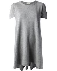 Balenciaga Loose Fit T-Shirt Dress - Lyst