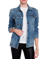 Current/Elliott The Oversized Trucker Jacket - Lyst