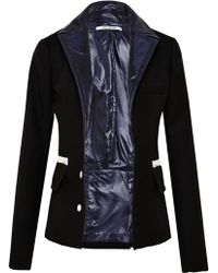 Paco Rabanne Womens Wool Jacket - Lyst