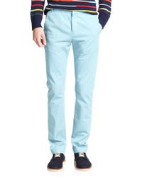 Band of Outsiders Cotton Chinos - Lyst