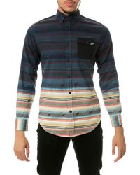 Staple The Andrew Dip Ls Buttondown Shirt - Lyst