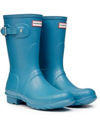 Hunter Original Short Wellington Boots - Lyst