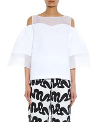 Issa Mandy Panelled Top - Lyst
