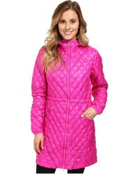 The North Face Pink Thermoball Parka - Lyst