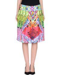 Manish Arora Knee Length Skirt - Lyst