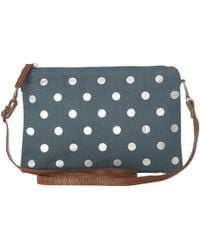White Stuff - Foil Spot Clutch Bag - Lyst