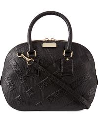 Burberry Orchard Bowling Bag 28 - Lyst