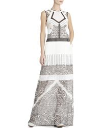 BCBGMAXAZRIA Runway Natasha Silk Dress - Lyst