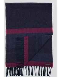 Ted Baker Stevii Color Block Cashmere Scarf - Lyst