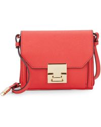 Ivanka Trump - Hopewell Saffiano Leather Mini Crossbody - Lyst