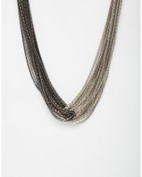 Coast - Kacie Knot Necklace - Lyst