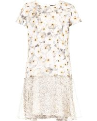 Max Mara Studio Floral Vitalba Dress - Lyst