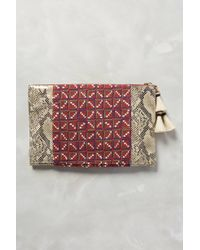 Penelope Chilvers Snakeside Clutch - Lyst
